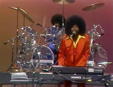 Billy Preston, his band, and their incredible afros on The Midnight Special '73