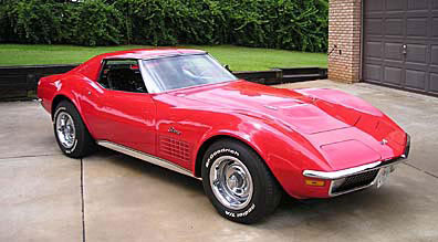 Corvette Stingray on 1970 Corvette Stingray  Pic By Larry Mcclaskey