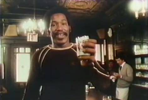 'I also love the easy-opening cans' - Bubba Smith, 1977