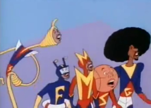 Super Globetrotters cartoon intro, 1979
