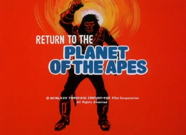 Return to the Planet of the Apes intro, 1975