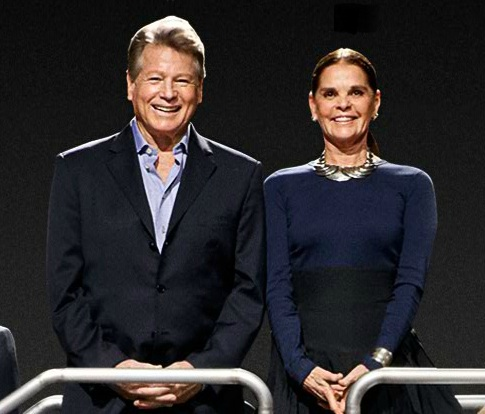 Ryan O'Neal & Ali MacGraw at Paramount Pictures 100th anniversary, 2012  (Photo: Paramount Pictures/MPTVImages.com)