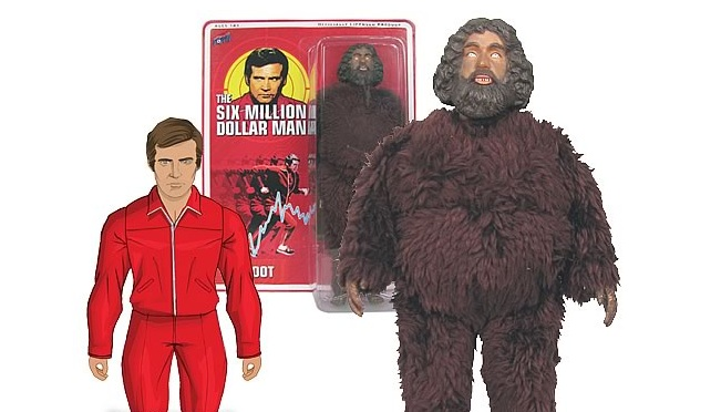 Bif Bang Pow's new Six Million Dollar Man 'Bigfoot' toy