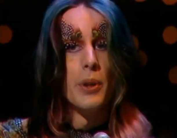 Todd Rundgren and bird brows sing 'Hello It's Me', 1973