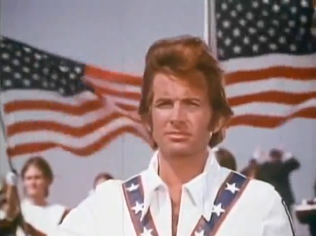 It's a patriotic day, right? George Hamilton is 'Evel Knievel,' 1971