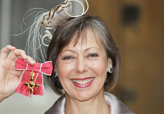Jenny Agutter and her OBE