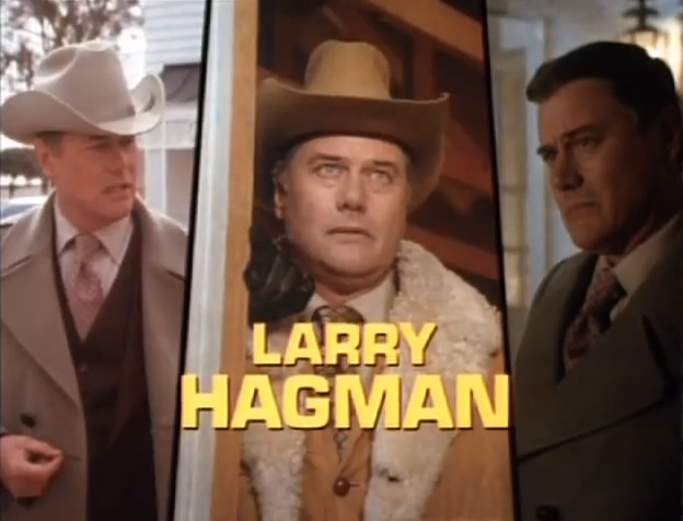 Larry Hagman, 'Dallas' TV intro, 1978
