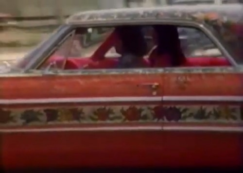 East L.A. cool ride, 1975 ('Chico and the Man' TV intro)