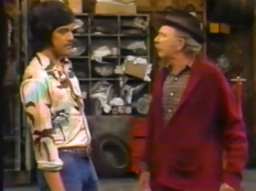 Freddie Prinze and Jack Albertson are 'Chico and the Man,' 1974