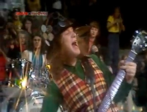 'So here it is - Merry Xmas everybody!' Slade, December, 1973
