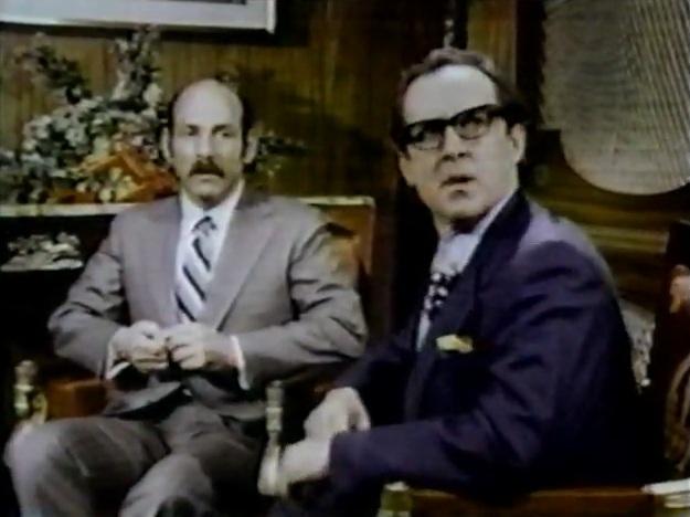 Herschel Bernardi (Arnie) and Roger Bowen (Hamilton Majors)