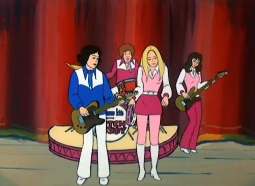 Butch Cassidy and the Sundance Kids blasting the bubblegum  (Hanna-Barbera, 1973)