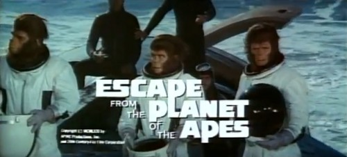 'The time is 1973. The place is Earth. How did they get here?'  ('Escape from the Planet of the Apes,' 1971)