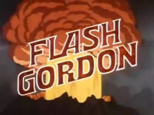 'Blasting off on a desperate mission to save Earth.' ('Flash Gordon,' 1979)