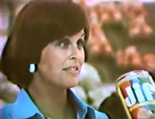 Choosy Carol chose Jif  (Jif Peanut Butter, 1977)