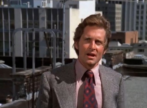 Michael Douglas is Assistant Inspector Steve Keller ('The Streets of San Francisco,' 1972)