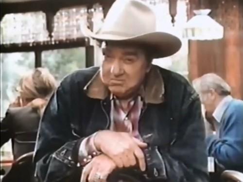 Cowboys love 'Hot & Juicy' Wendy's burgers. (1979)
