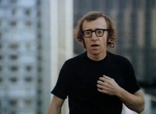Woody Allen is Allan Felix with a Humphrey Bogart complex ('Play It Again, Sam,' 1972)