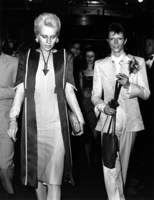 Angie and David Bowie, UK, 1973 (John Rodgers/Redferns)