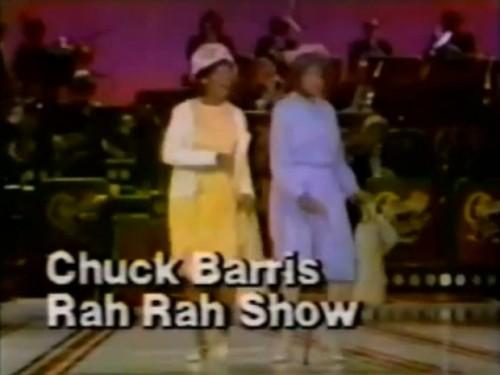 'Chuck Barris Rah Rah Show,' NBC, 1978