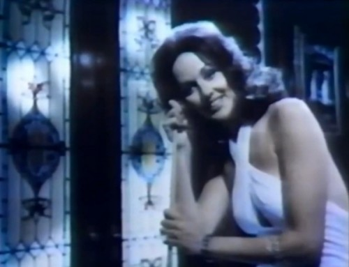 I'm betting her men wore more polyester than leather. (English Leather commercial, 1977)