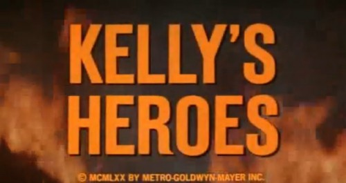 'Kelly's Heroes' trailer title, 1970