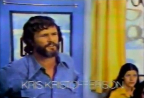 'He thrilled audiences with his electric performance in A Star Is Born.' (Kris Kristofferson, 1977)