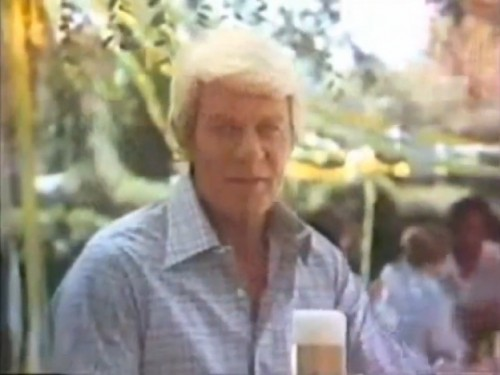 Your beer...should you choose to accept it. (Peter Graves, Natural Light, 1978)