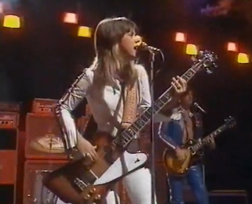 """I may be too young to fall in love, but I'm still hangin' round!"" (Suzi Quatro, 1975)"