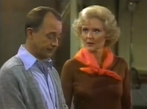 John Hillerman and Betty White ('The Betty White Show,' 1977)