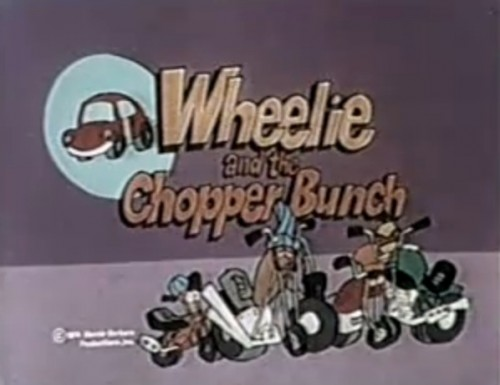'Wheelie and the Chopper Bunch' title card, 1974