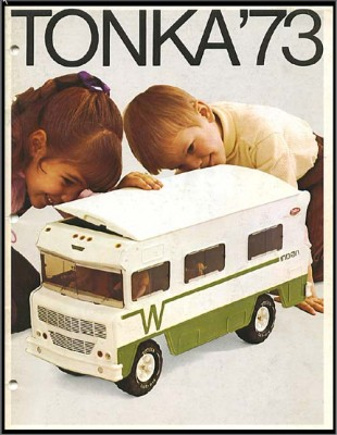Winnebago Indian Tonka toy circa 1973. (Photo from Bob's World of Tools and Toys)