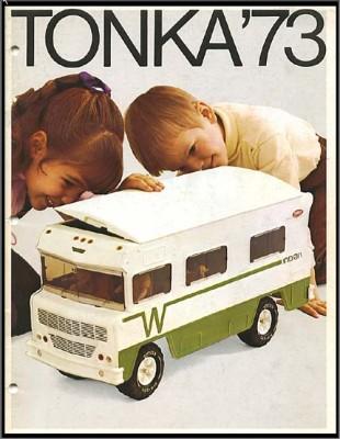 Winnebago Indian Tonka toy circa 1973. (Photo from Bob's World of Tools and Toys)