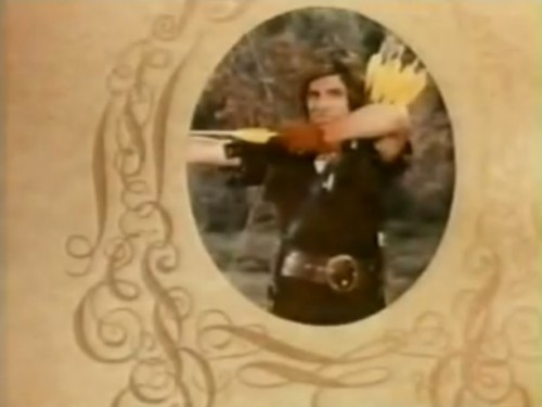 Dick Gautier as Robin Hood. ('When Things Were Rotten,' 1975)