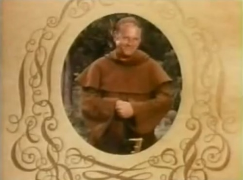 Dick Van Patten as Friar Tuck. ('When Things Were Rotten,' 1975)