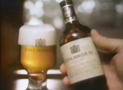 """More expensive than most..."" (Erlanger Beer, 1979)"