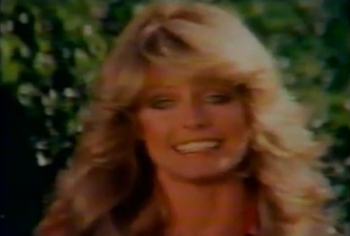 """""""If you're not in shape - no make-up in the world can make up for it."""" (Farrah Fawcett, 1977)"""