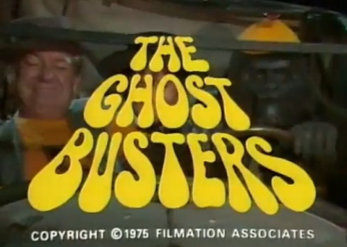 'The Ghost Busters' TV title, 1975