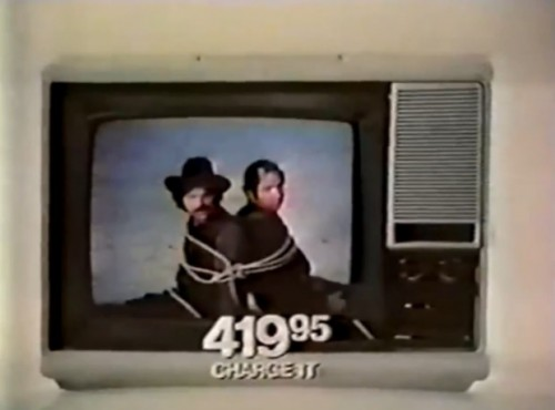 """A color TV can be trouble..."" (JCPenney,1972)"