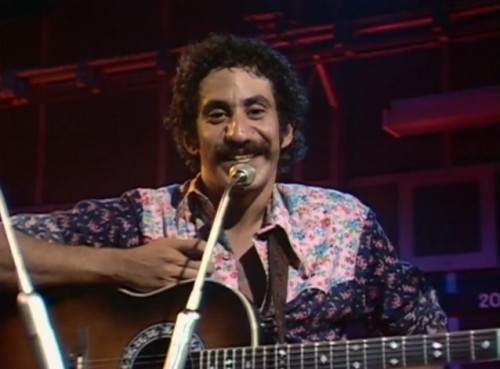 Jim Croce charms 'The Old Grey Whistle Test,' 1973