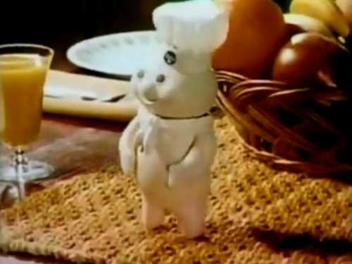 The Pillsbury Doughboy, The most edible mascot of all-time. (1972)