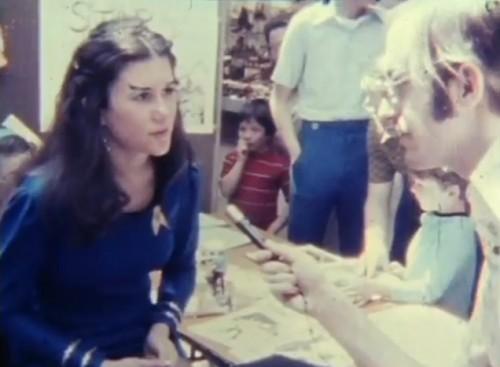 Join the 'Star Trek' club. 'Star Trek' convention, 1976