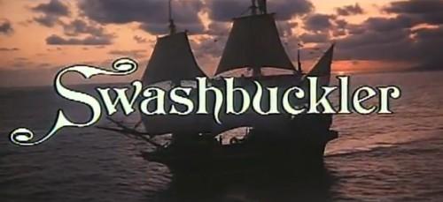 'Swashbuckler' trailer title, 1976