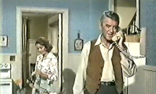 Julie Adams (Martha Howard) and James Stewart (Prof. James K. Howard) in 'The Jimmy Stewart Show'