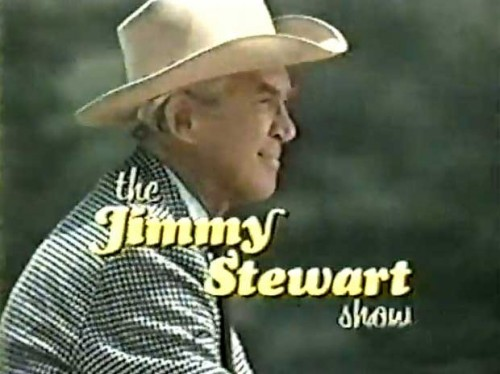 'The Jimmy Stewart Show,' TV title, 1971