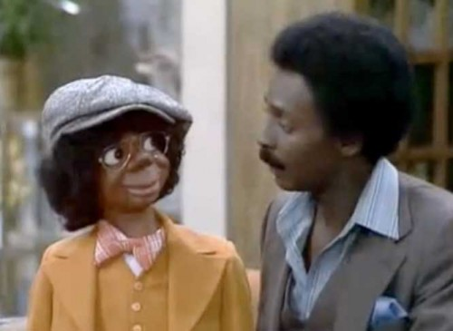 Willie Tyler & Lester on 'The Jeffersons,' 1978  (Photo: Classic Television Showbiz)