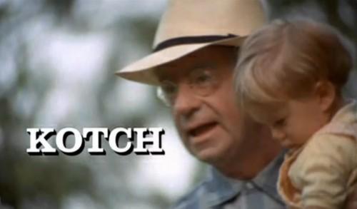 'Kotch' opening title, 1971