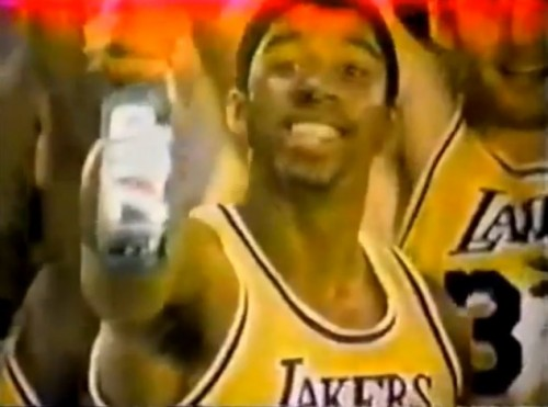 'Reachin' up. Feelin' up.' (Magic Johnson for 7-Up, 1979)