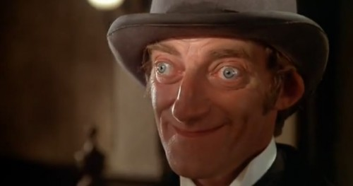 Marty Feldman is Sgt. Sacker in 'The Adventure of Sherlock Holmes' Smarter Brother,' 1975