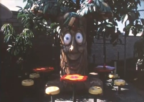 The 'Apple Pie Tree.' I need this in my dining room. ('McDonald's Setmakers,' 1972)